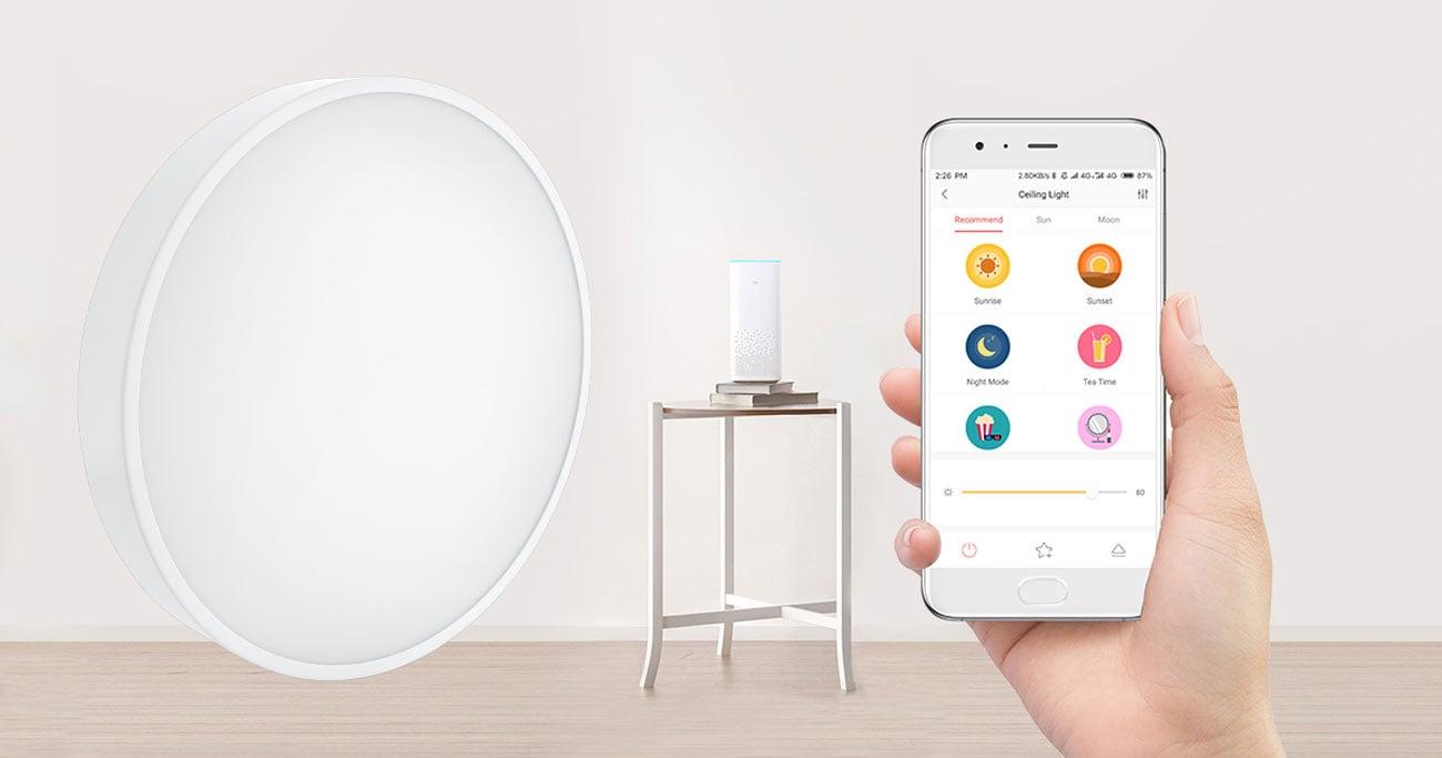 Yeelight LED Ceiling Light - Sterowanie