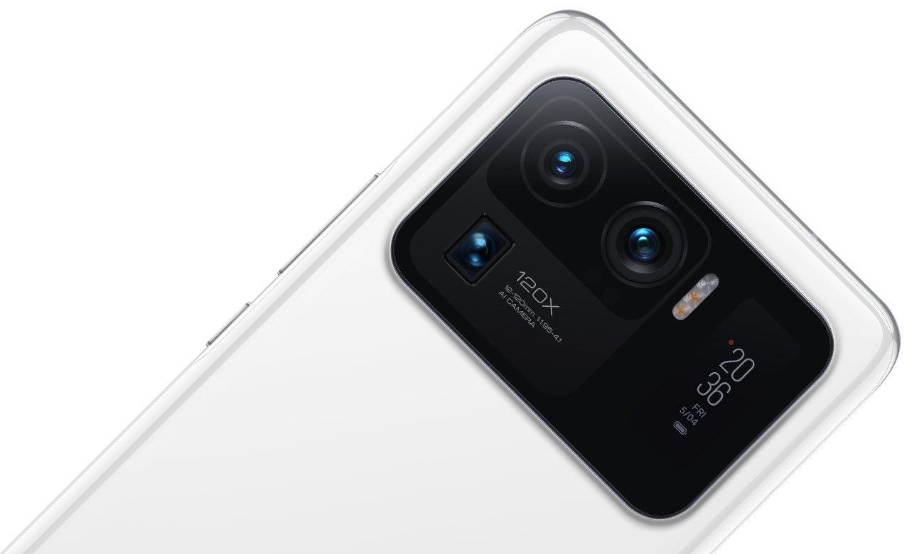 Xiaomi Mi 11 Ultra 5G 256 GB Black Aparat obiektyw
