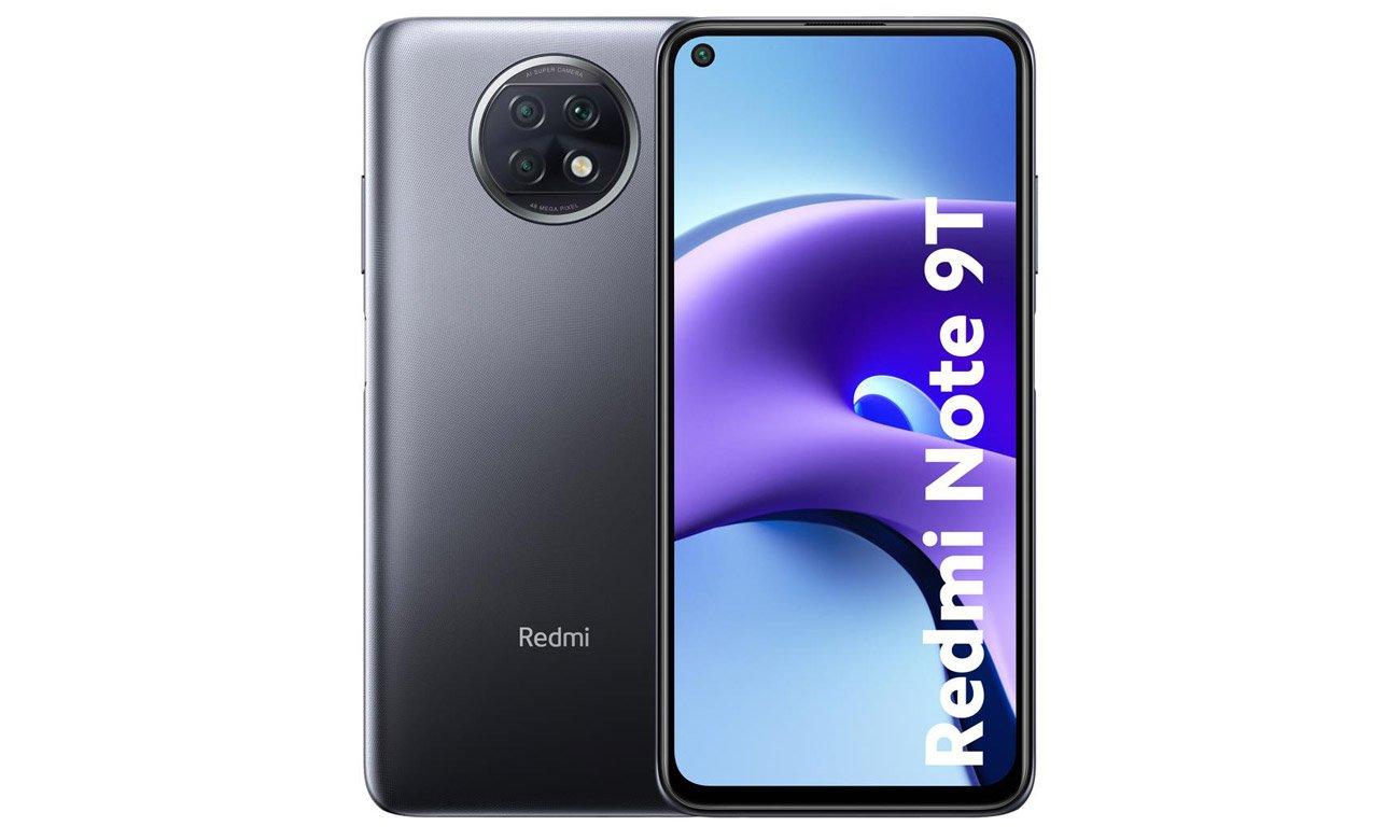 Smartfon Xiaomi Redmi Note 9T 5G 128 GB Nightfall Black