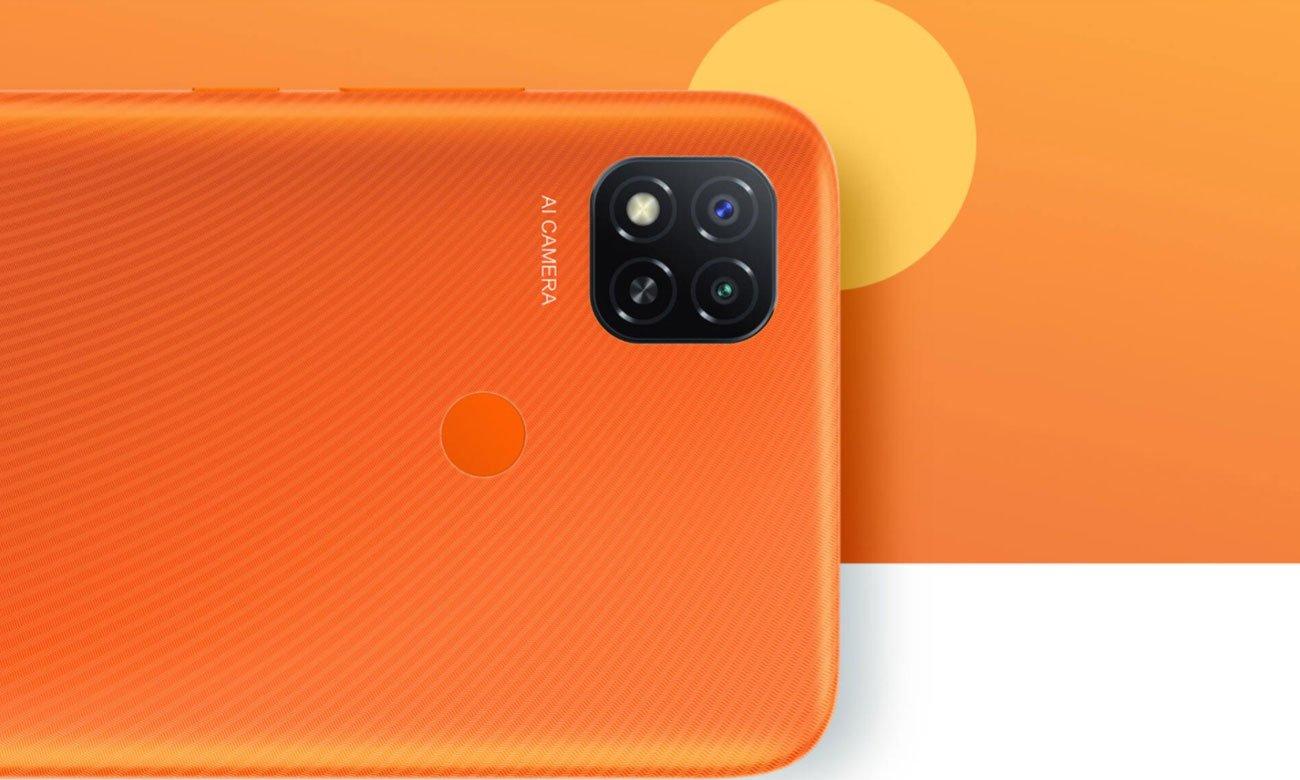 Aparat Xiaomi Redmi 9C NFC pomarańczowy