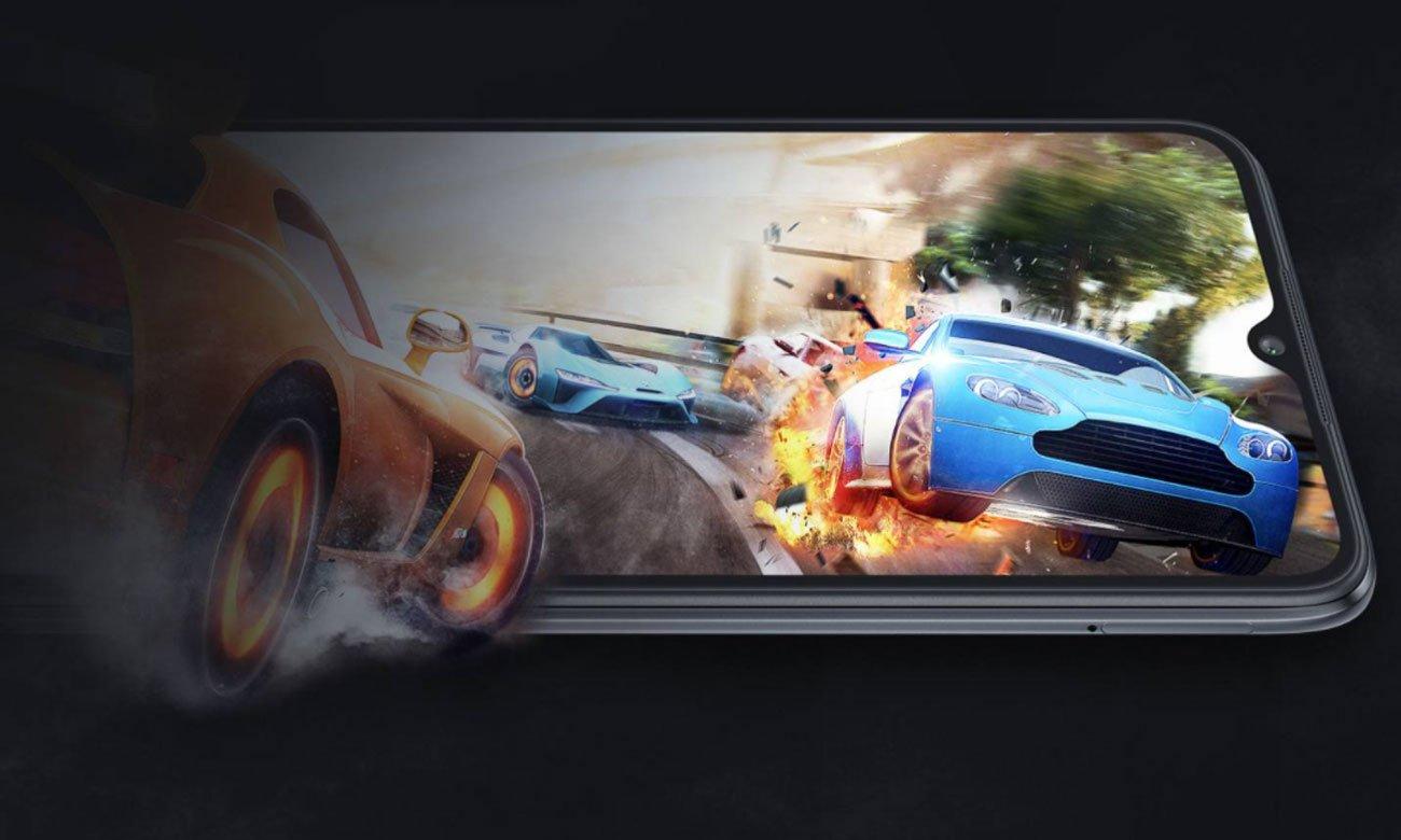 Duży ekran Xiaomi Redmi 9C NFC szary