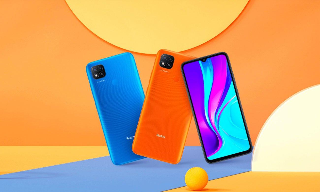 Smartfon Xiaomi Redmi 9C NFC pomarańczowy