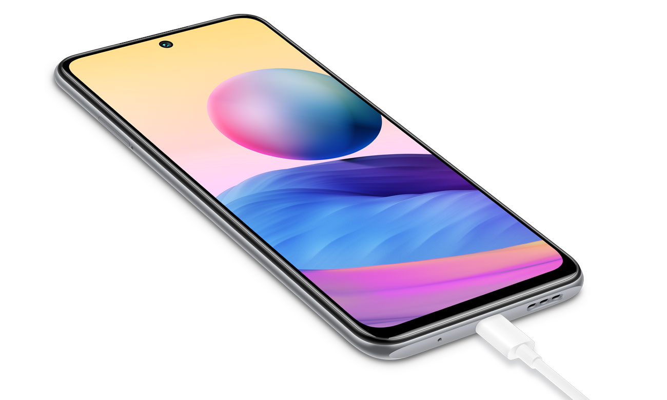 Smartfon Xiaomi Redmi Note 10 5G szybkie ładowanie