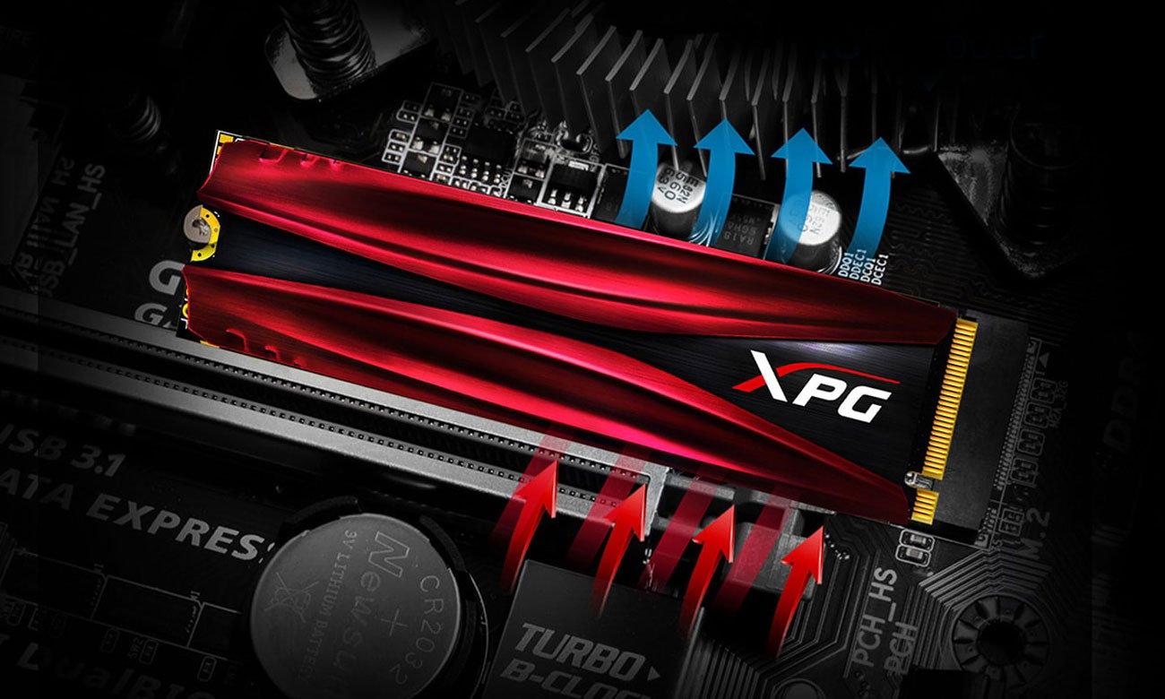 XPG GAMMIX S11 Pro Chłodzenie
