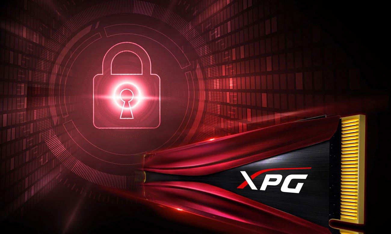 XPG GAMMIX S11 Pro Bezpieczeństwo