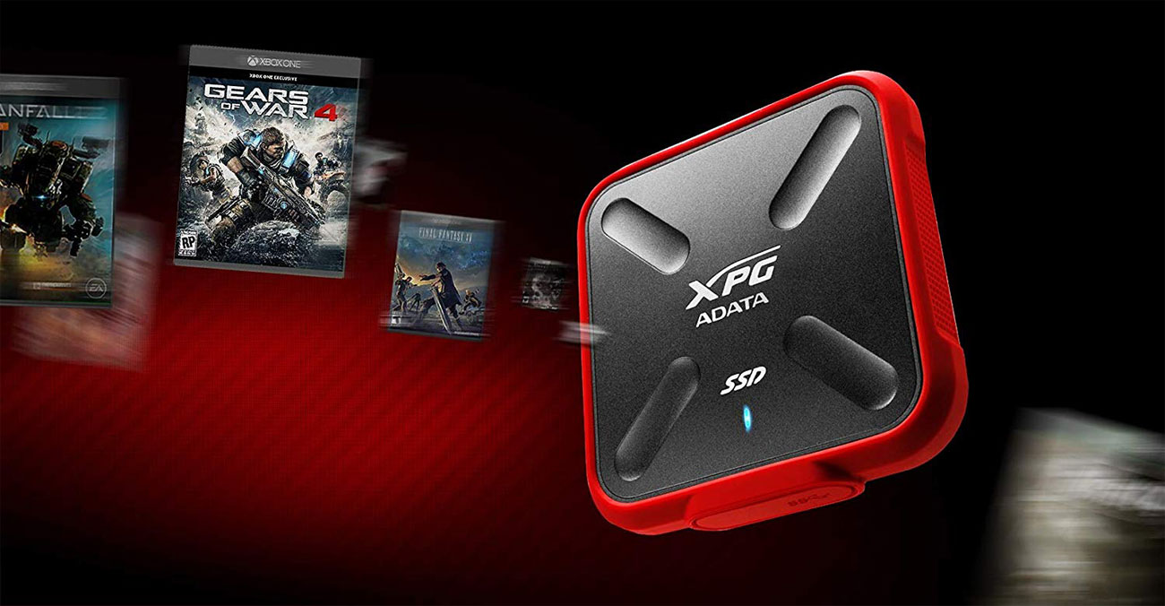 XPG SD700X - Biblioteka gier