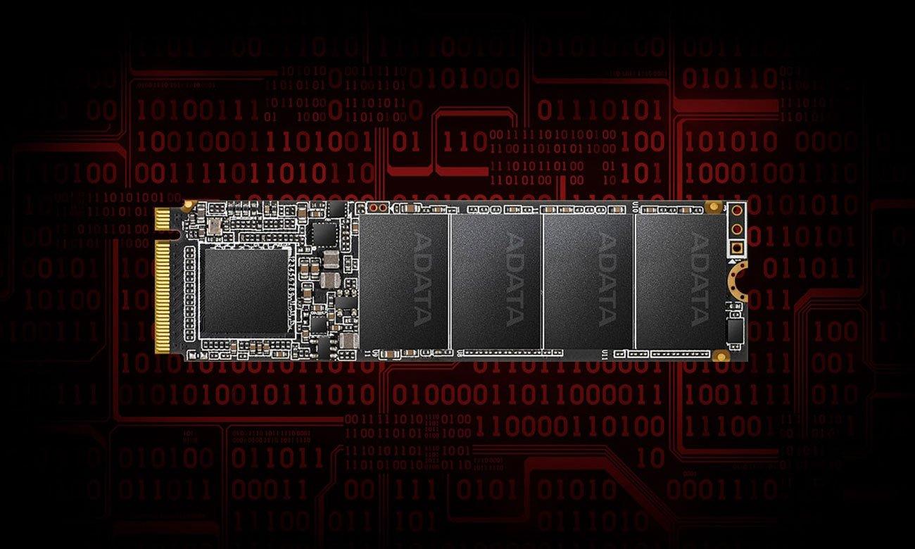 Dysk SSD ADATA 512GB M.2 PCIe NVMe XPG SX6000 Lite ASX6000LNP-512GT-C