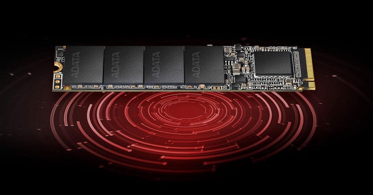 XPG SX6000 Lite Bezpieczeństwo danych