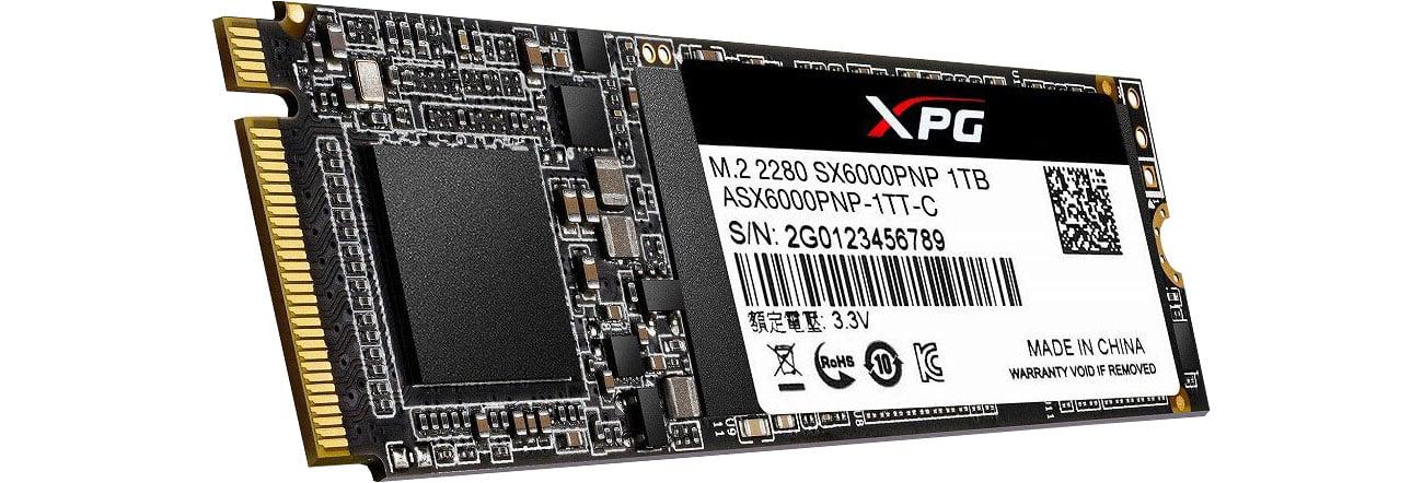 Dysk SSD ADATA 1TB M.2 PCIe XPG SX6000 Pro ASX6000PNP-1TT-C
