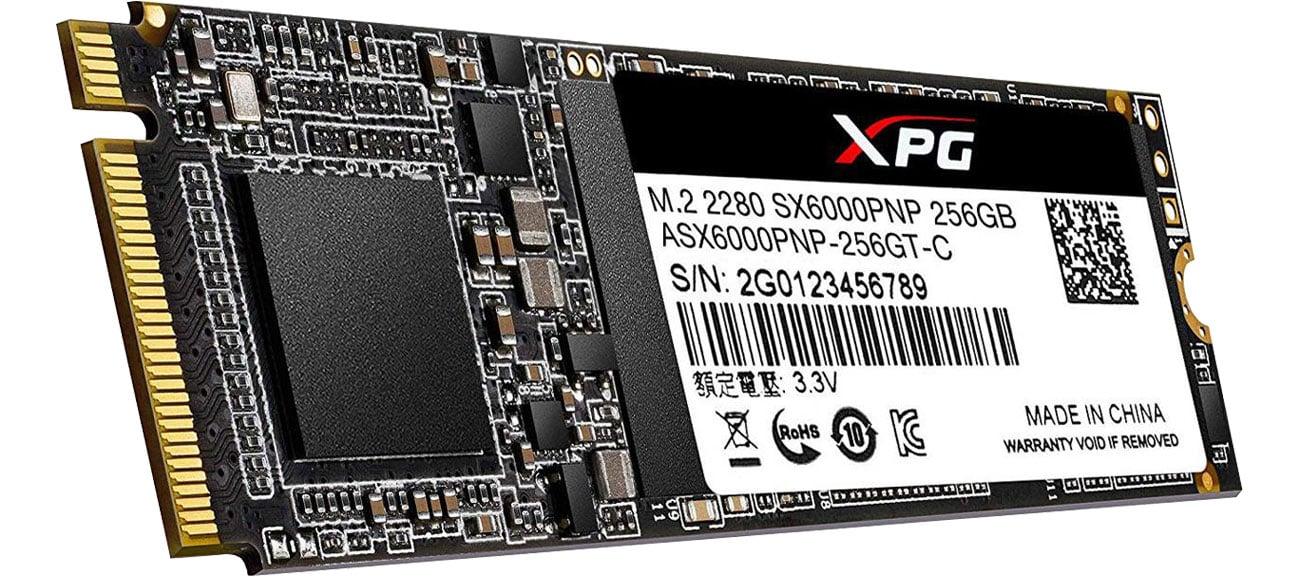 Dysk SSD ADATA 256GB M.2 PCIe XPG SX6000Pro ASX6000PNP-256GT-C