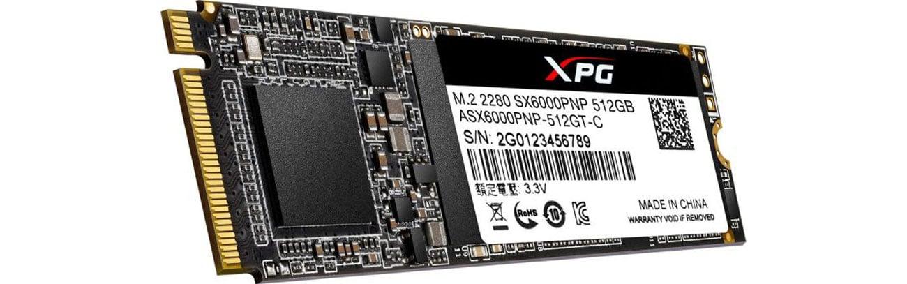 Dysk SSD ADATA 512GB M.2 PCIe XPG SX6000 Pro ASX6000PNP-512GT-C
