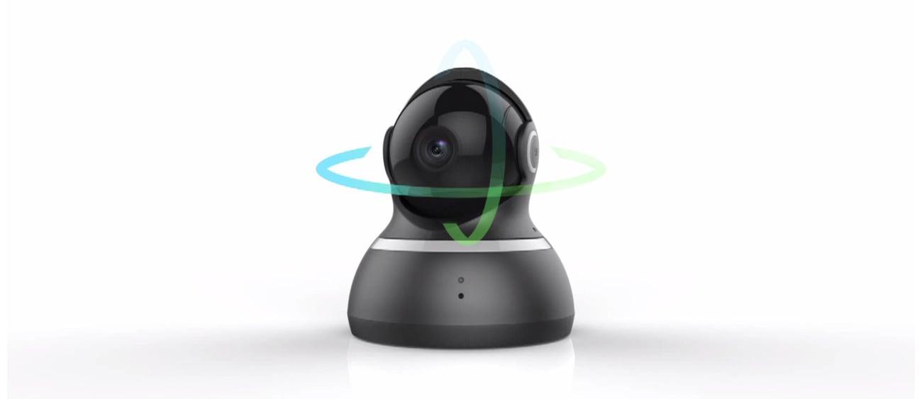 Yi Dome 1080p rozdzielczość Full HD Szerokie kąty widzenia