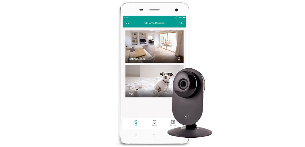 Kamera IP Xiaomi Yi Home HD LED IR