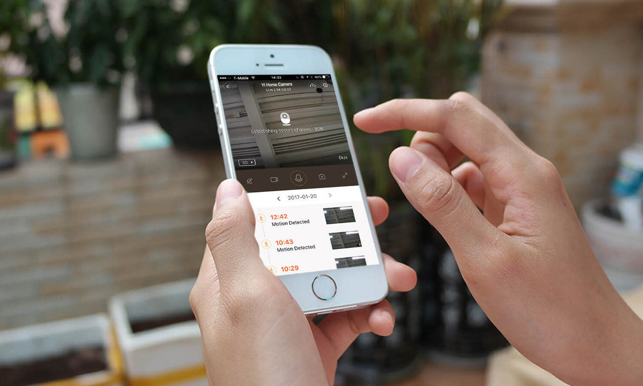 Yi Home 1080p Aplikacja na smartfona YI Home App