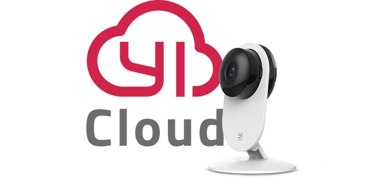 Xiaoyi Yi Home HD LED IR - YI Cloud