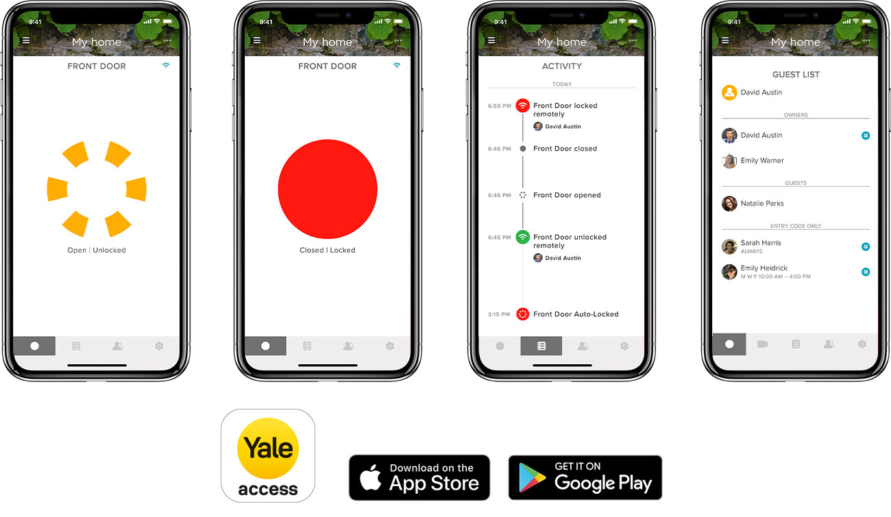 Aplikacja Yale Access
