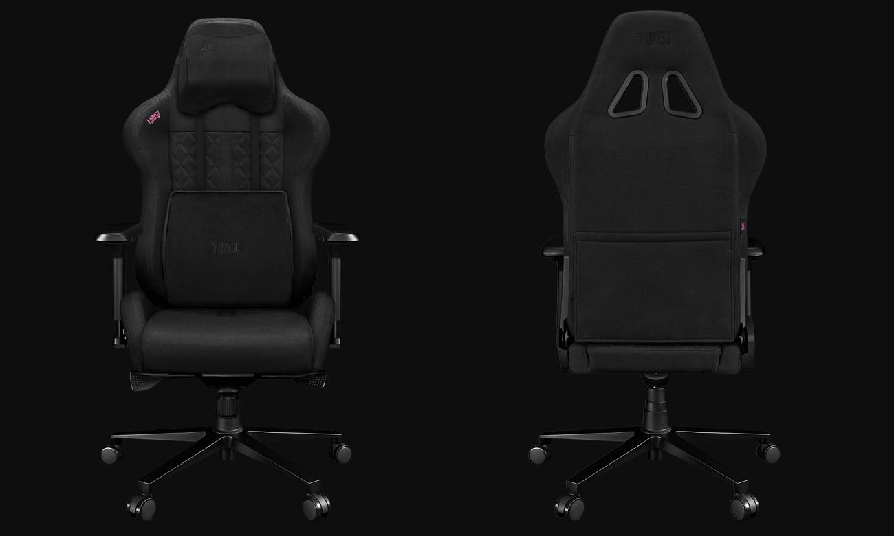 Fotel gamingowy Yumisu 2050 Czarny Tkanina