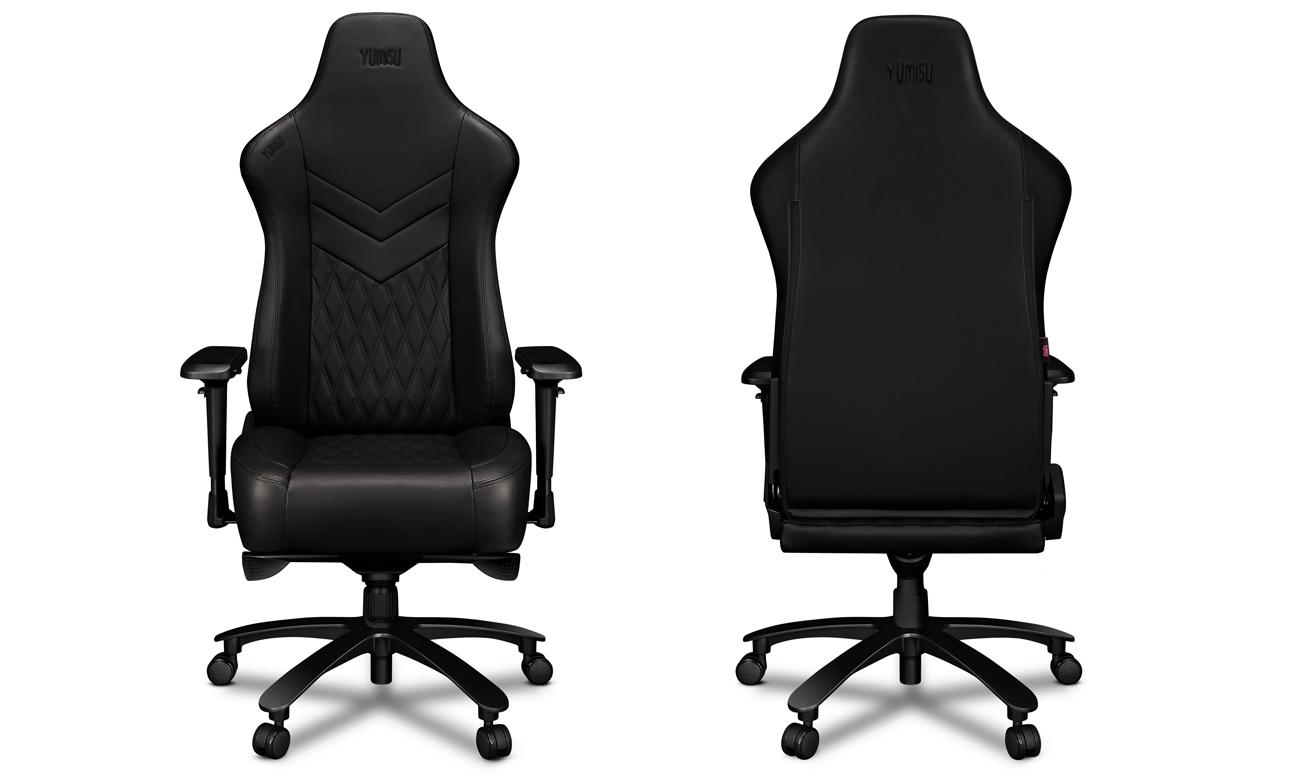 Fotel gamingowy Yumisu 2053 Czarny