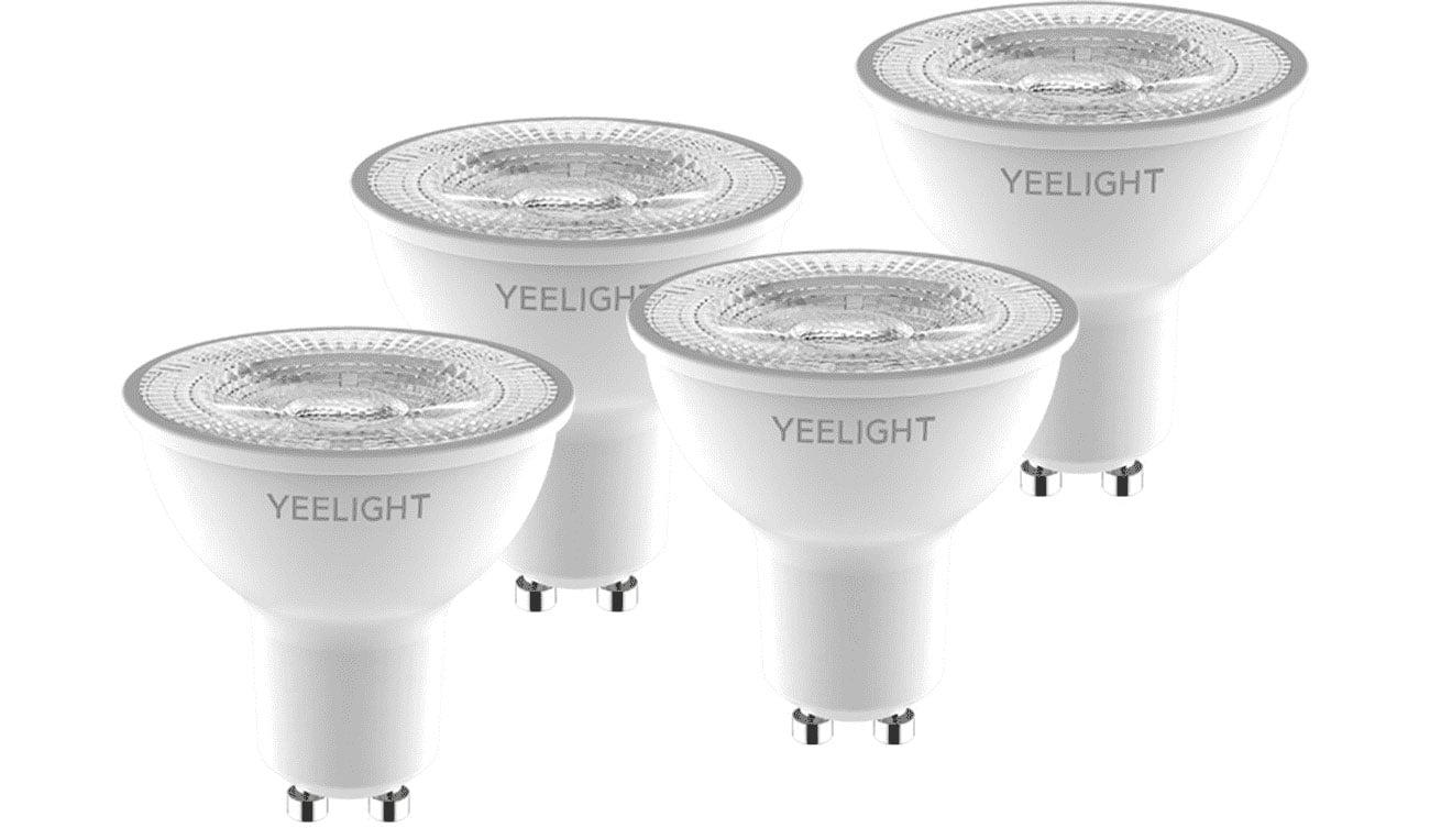 Inteligentna żarówka Yeelight W1 GU10 (ściemnialna) 4szt YLDP004-4pcs