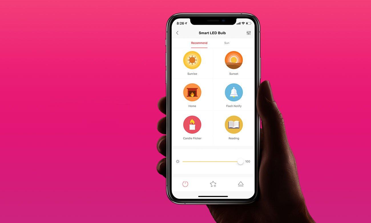 Yeelight 1S RGB - Aplikacja mobilna