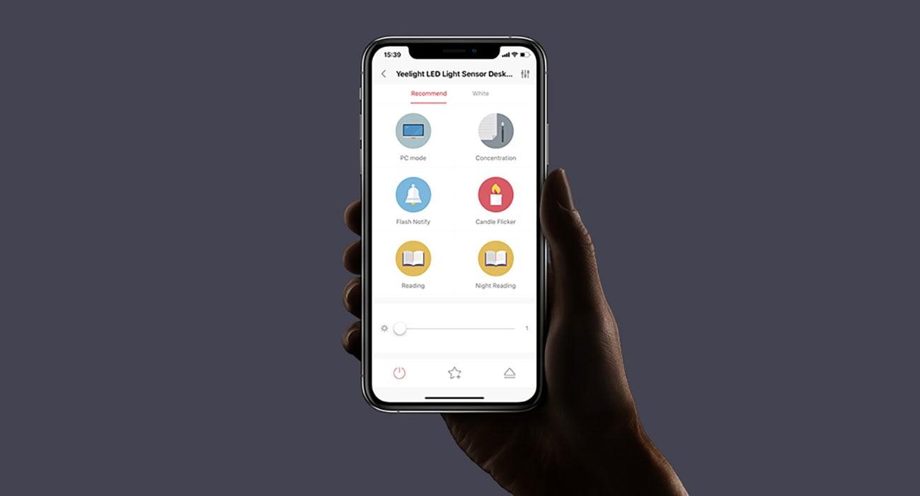 Aplikacja Yeelight