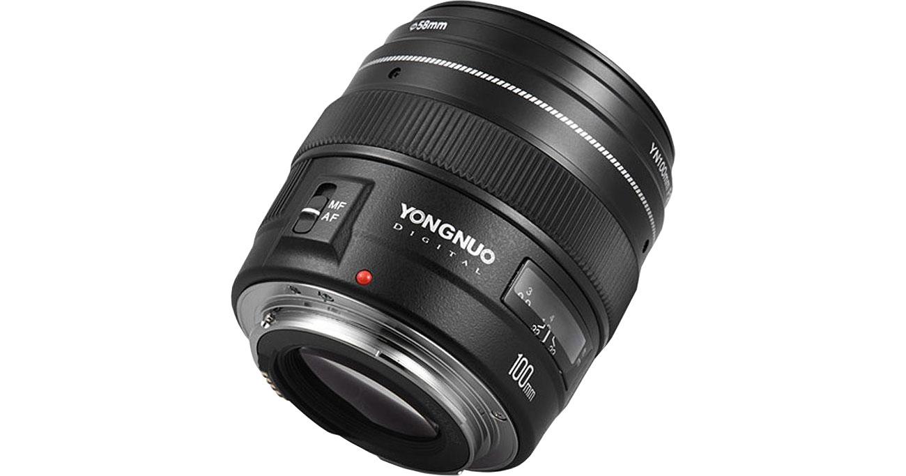 Obiektywy stałoogniskowy Yongnuo YN 100mm f2.0 do Canon EF