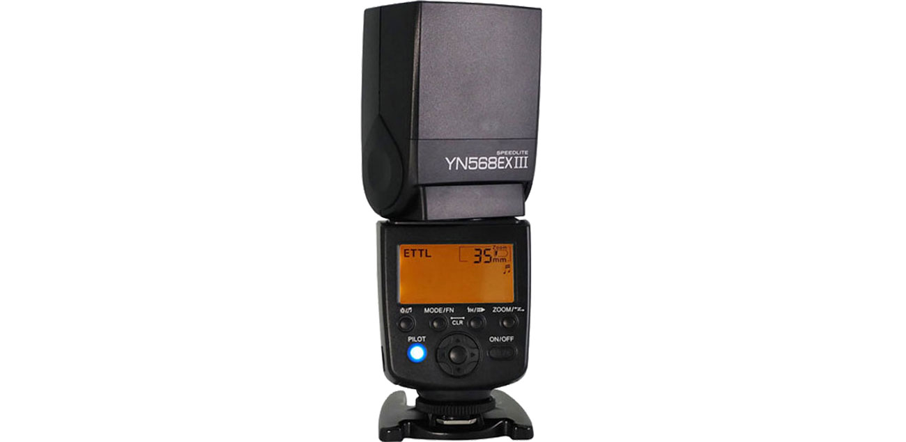 Yongnuo YN-568EX III Nikon Wyświetlacz LCD