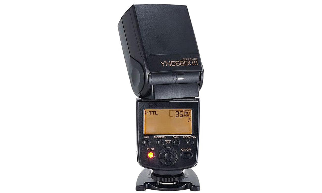 Yongnuo YN-568EX III Wyświetlacz LCD