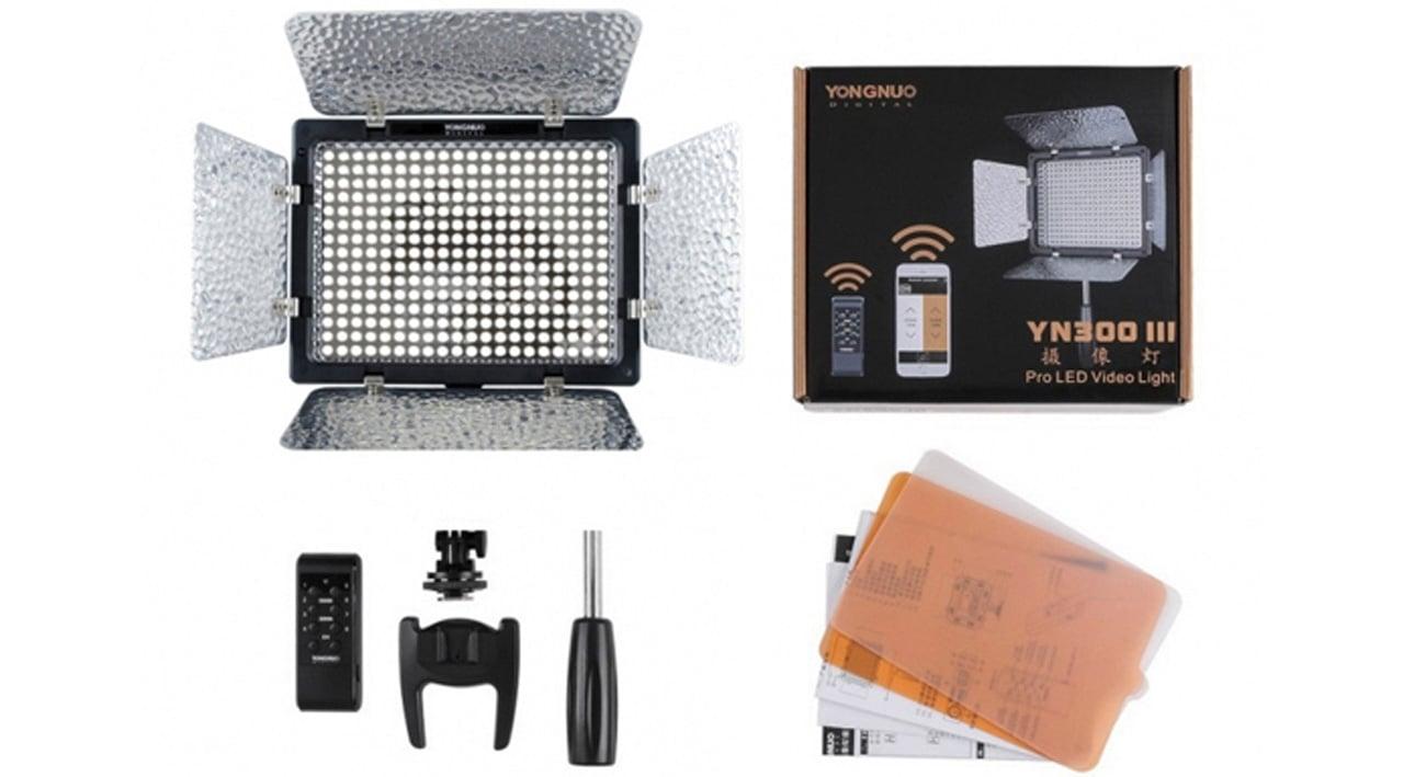 Lampa diodowa LED YN-300III