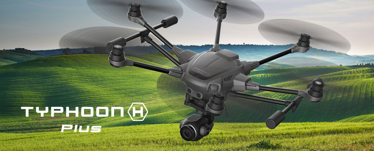 Dron Yuneec Typhoon H Plus z Intel RealSense