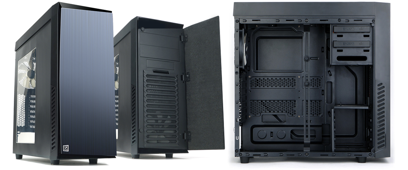 Zalman R1 czarna USB 3.0 elegancka budowa
