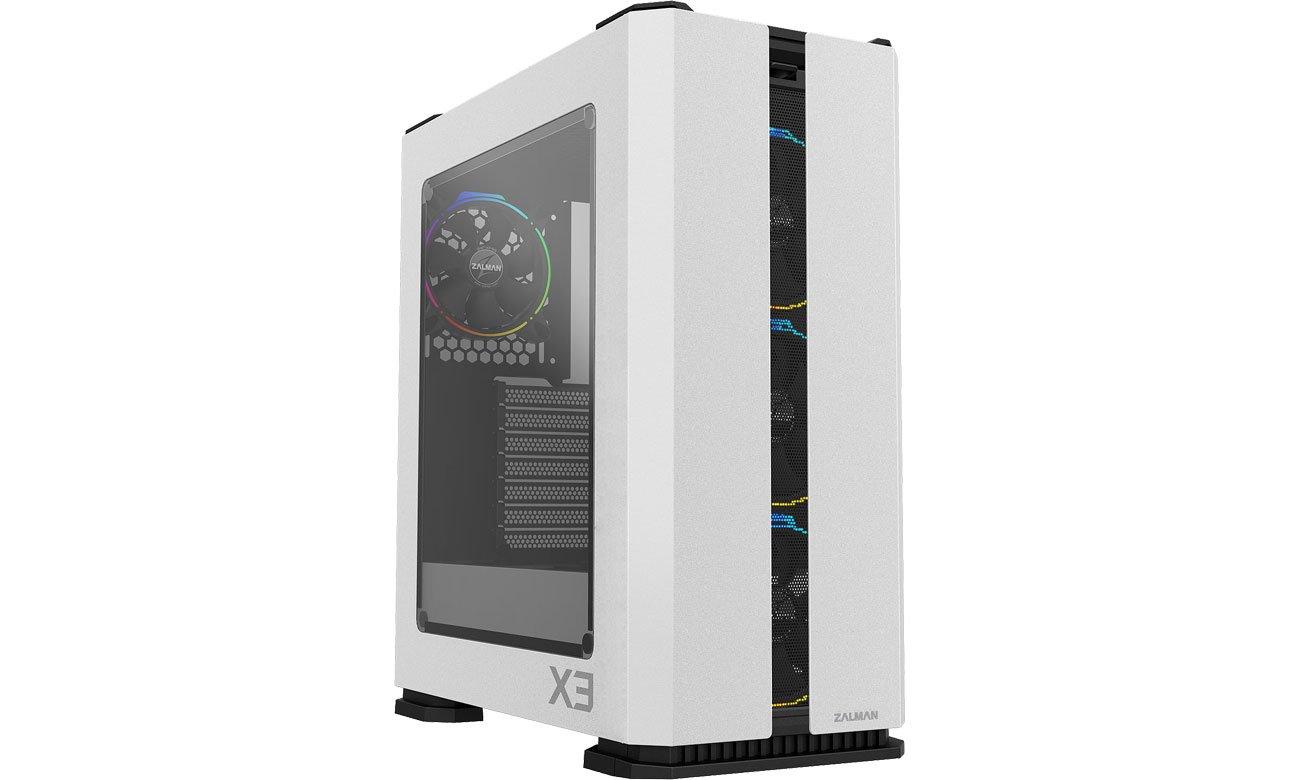 Obudowa do komputera Zalman X3 White TG RGB