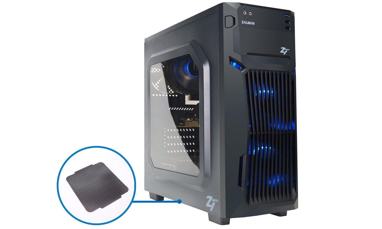 Zalman Z1 Neo USB 3.0 Filtry Antykurzowe