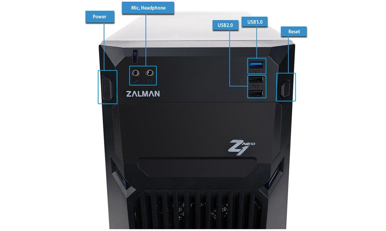 Zalman Z1 Neo USB 3.0 Przedni Panel