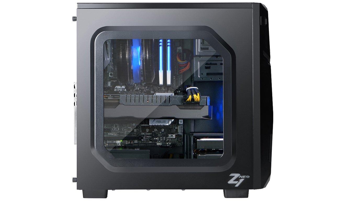 Zalman Z1 Neo USB 3.0 Zarządzanie Okablowaniem