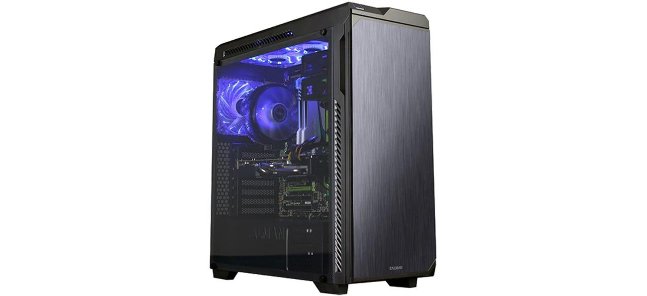 Zalman Z9 NEO PLUS czarna Przezroczysty panel boczny