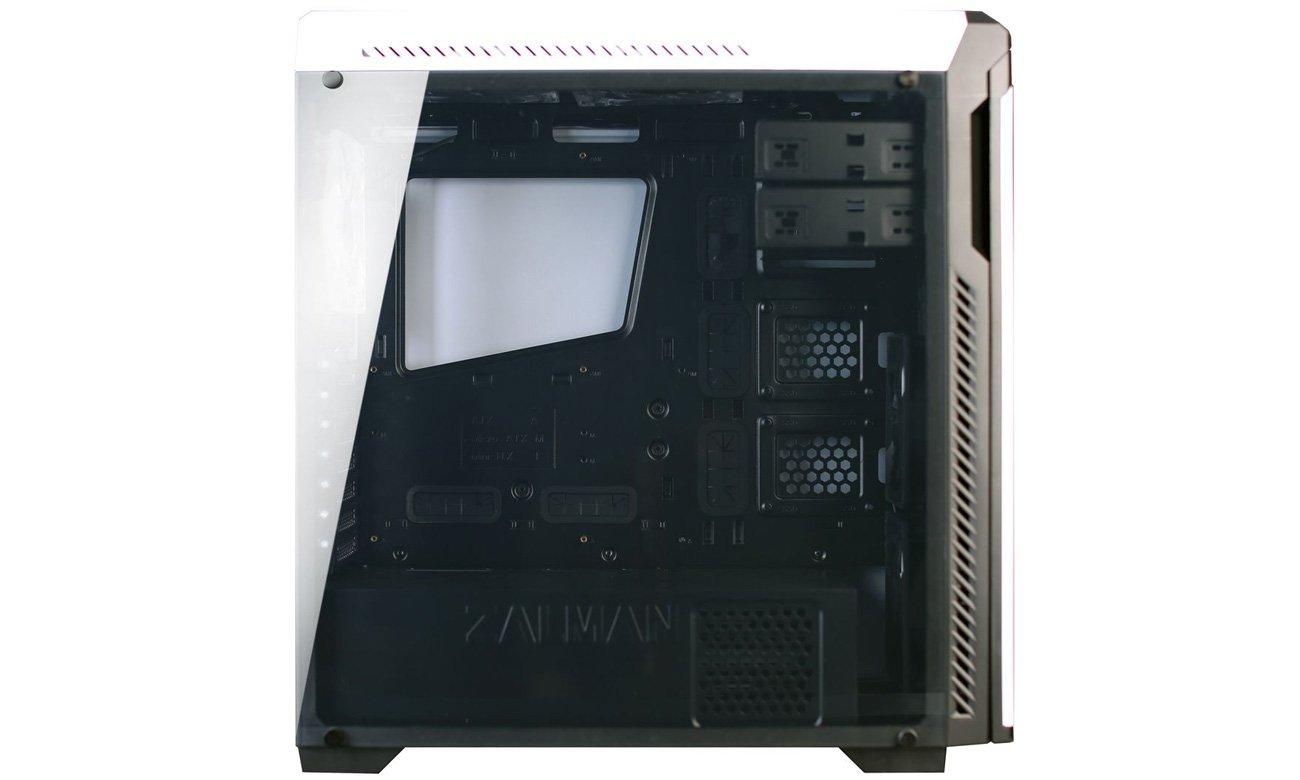 Zalman Z9 NEO PLUS biała Przezroczysty panel boczny