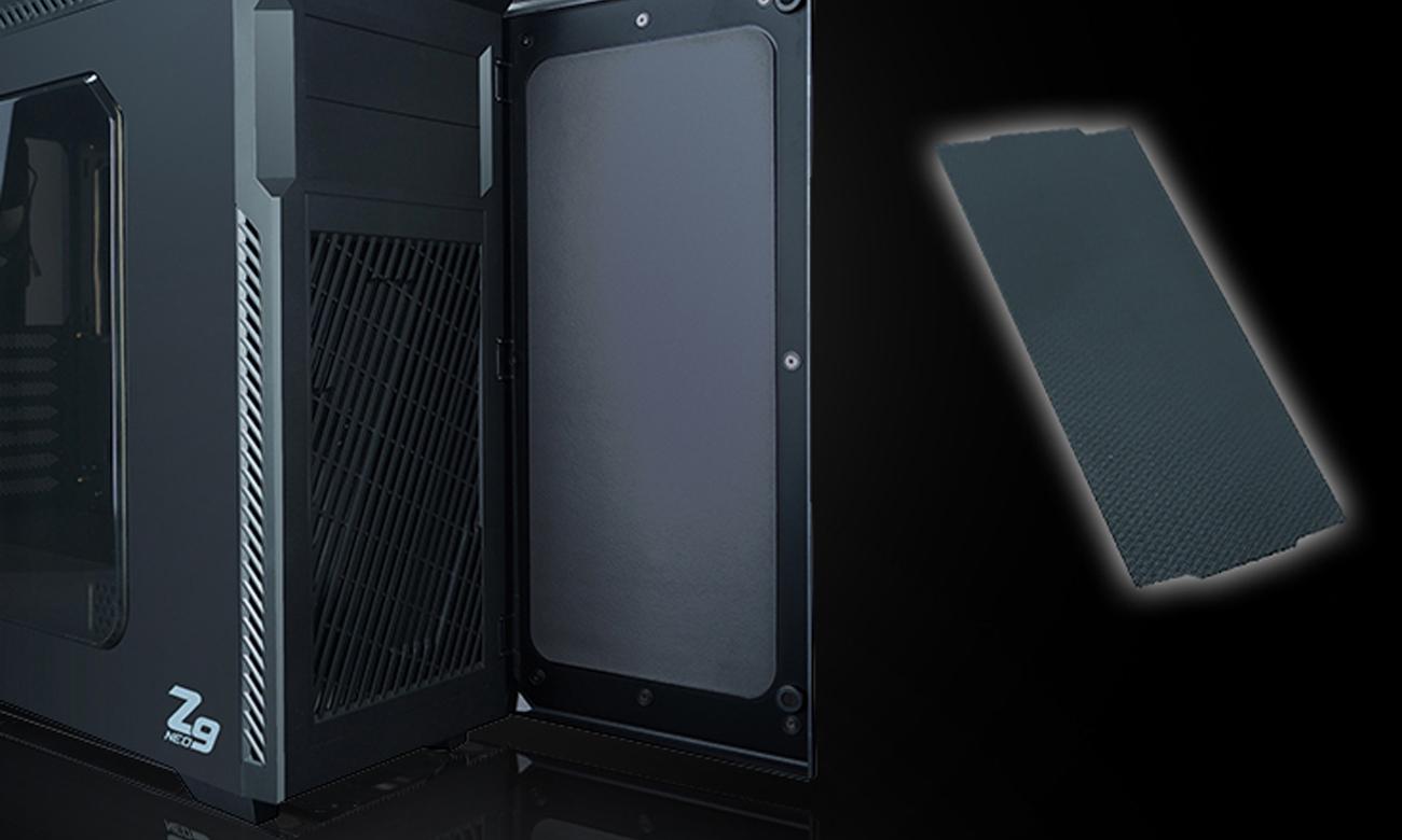 Zalman Z9 Neo Filtry Przeciwpyłowe