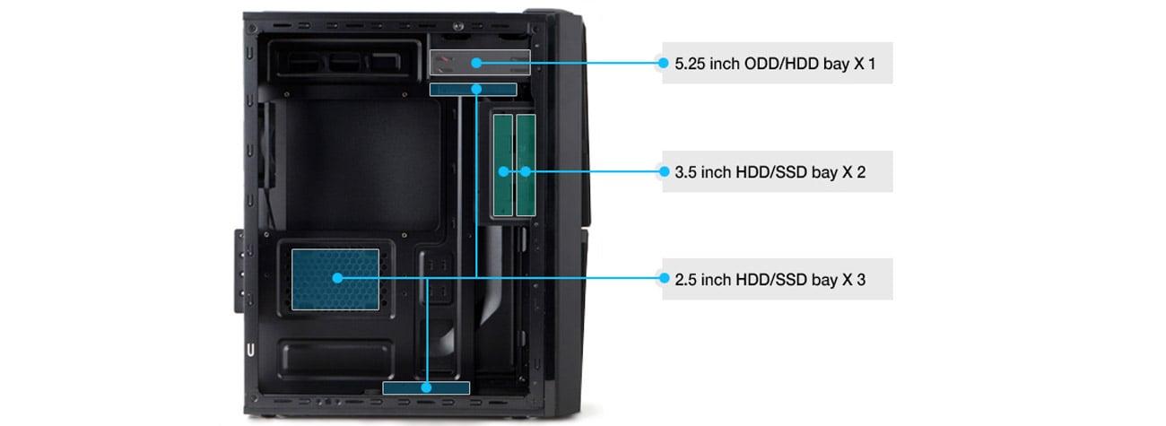 Zalman ZM-T4 czarna USB 3.0 montaż dysków