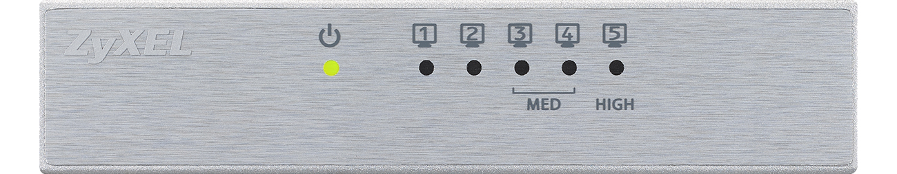 Zyxel GS-105B V3 widok z przodu