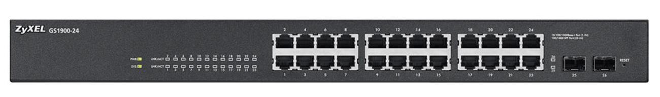 Zyxel 26p GS1900-24