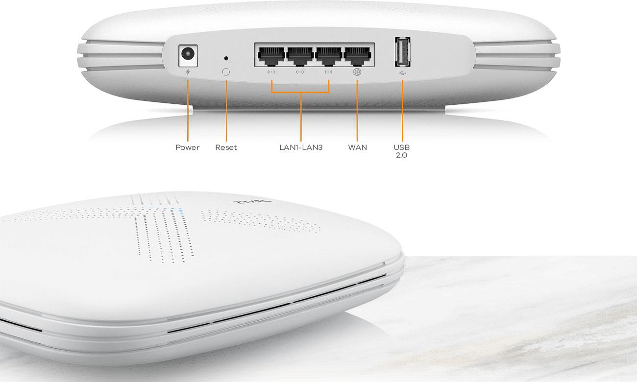 System Wi-Fi Zyxel Multy X Mesh Design