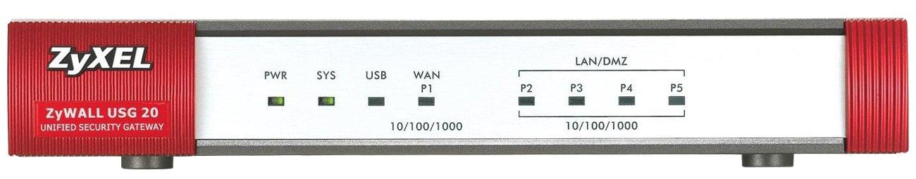 Firewall Zyxel USG20-VPN przód
