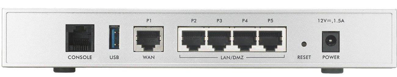 Firewall Zyxel USG20-VPN tył złącza