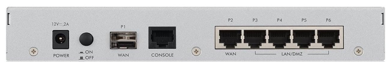 Firewall Zyxel USG20W-VPN tył złącza