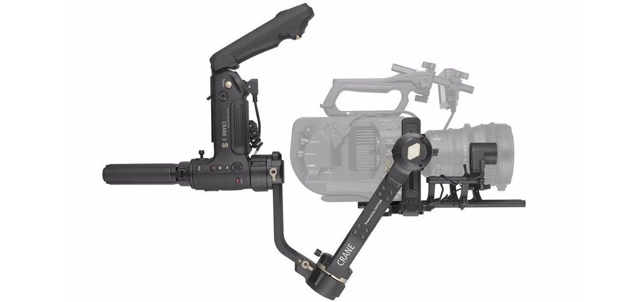 Stabilizator do aparatu Zhiyun Crane 3S Pro