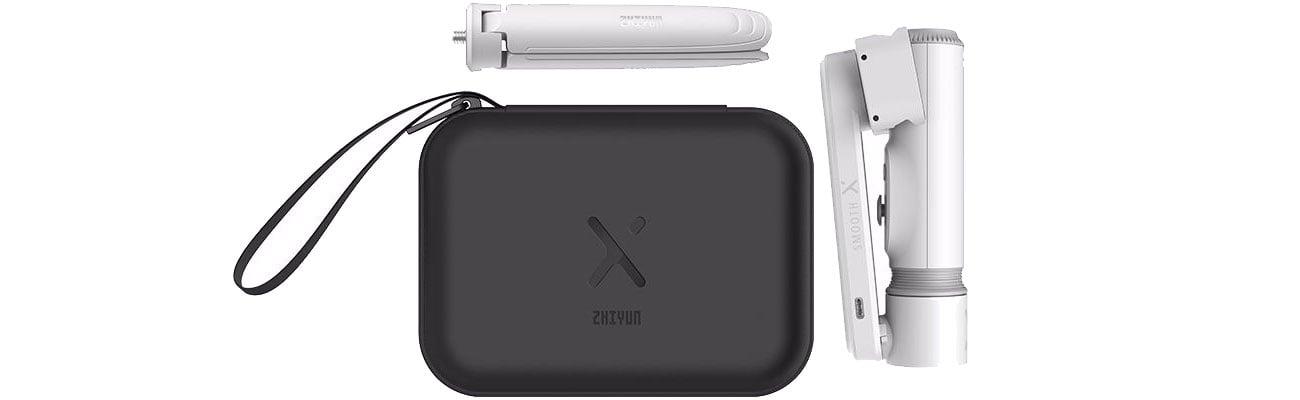 Stabilizator Zhiyun Smooth-X Essential Combo biały 114024