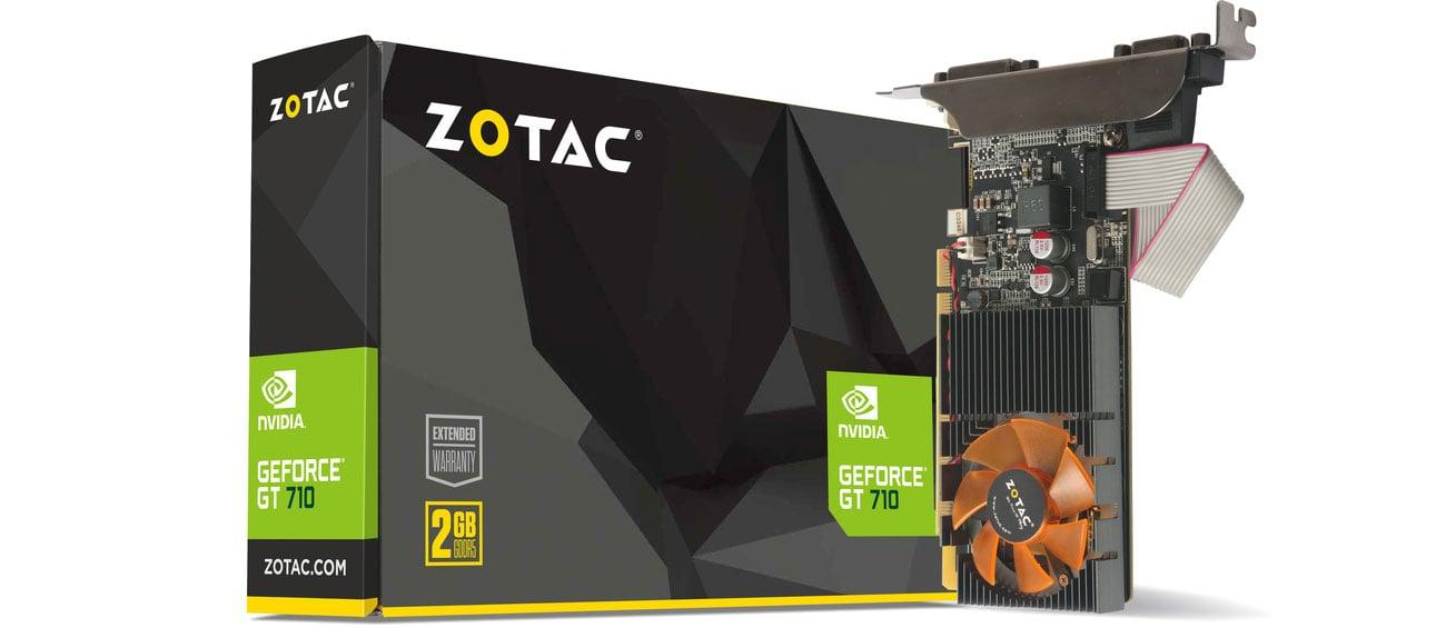 Zotac GeForce GT 710 2GB DDR3 ZT-71310-10L