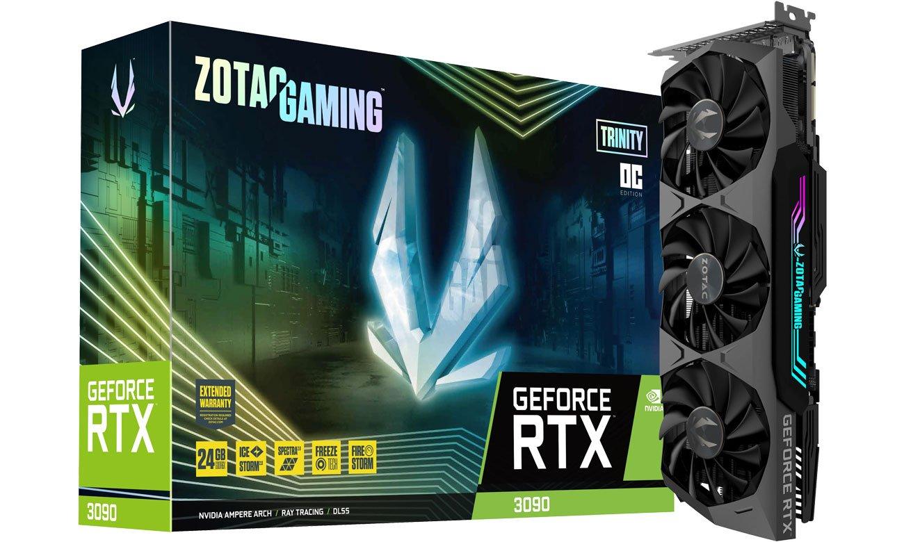 Zotac GeForce RTX 3090 Gaming Trinity OC 24GB GDDR6X ZT-A30900J-10P