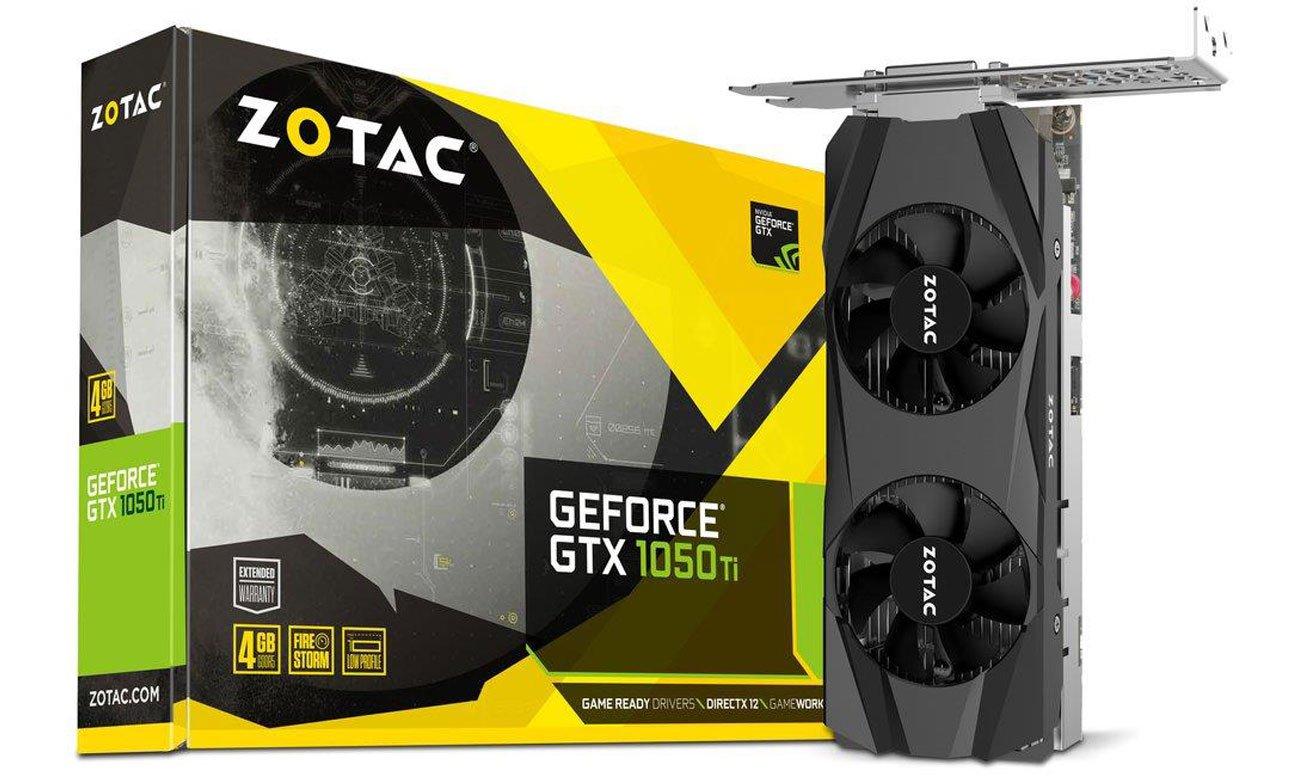 Karta graficzna Zotac GTX 1050 Ti Low Profile 4 GB